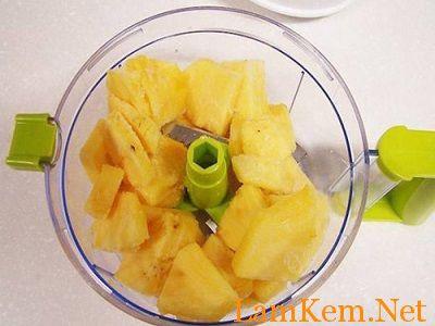 Cách làm kem dừa vị dứa ngon tuyệt-hình số-2