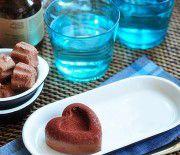 Cách làm kem chocolate hình trái tim cực đơn giản