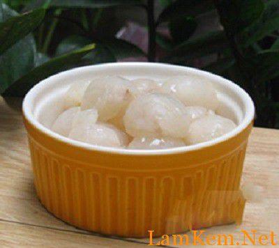 Cách làm sữa chua vải ngon mê ly-hình số-2