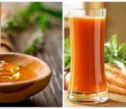 Cách làm nước ép cà rốt mật ong giải nhiệt mùa hè
