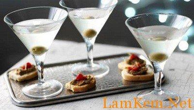 Cách pha chế cocktail dry martini cực hót-hình số-1