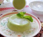 Cách làm chè bơ thạch dừa thơm ngon, dễ làm