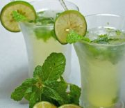Cách pha chế soda trà chanh thơm ngon lại giải cảm