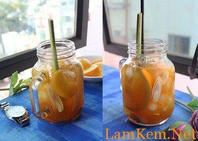 Cách pha trà đào cam sả cực kỳ hấp dẫn-hình số-1