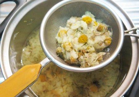 Hướng dẫn nấu nước sâm bông cúc nhãn nhục cực ngon-hình số-3