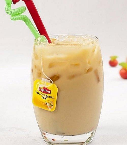 Hướng dẫn cách làm trà sữa lipton rất dễ làm tại nhà-hình số-1