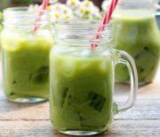 Hướng dẫn cách làm trà sữa thái hương vị trà xanhuống là mê